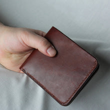 Load image into Gallery viewer, Bifold Wallet - Medium Brown