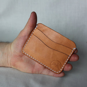 5-Card Wallet - Russet Brown