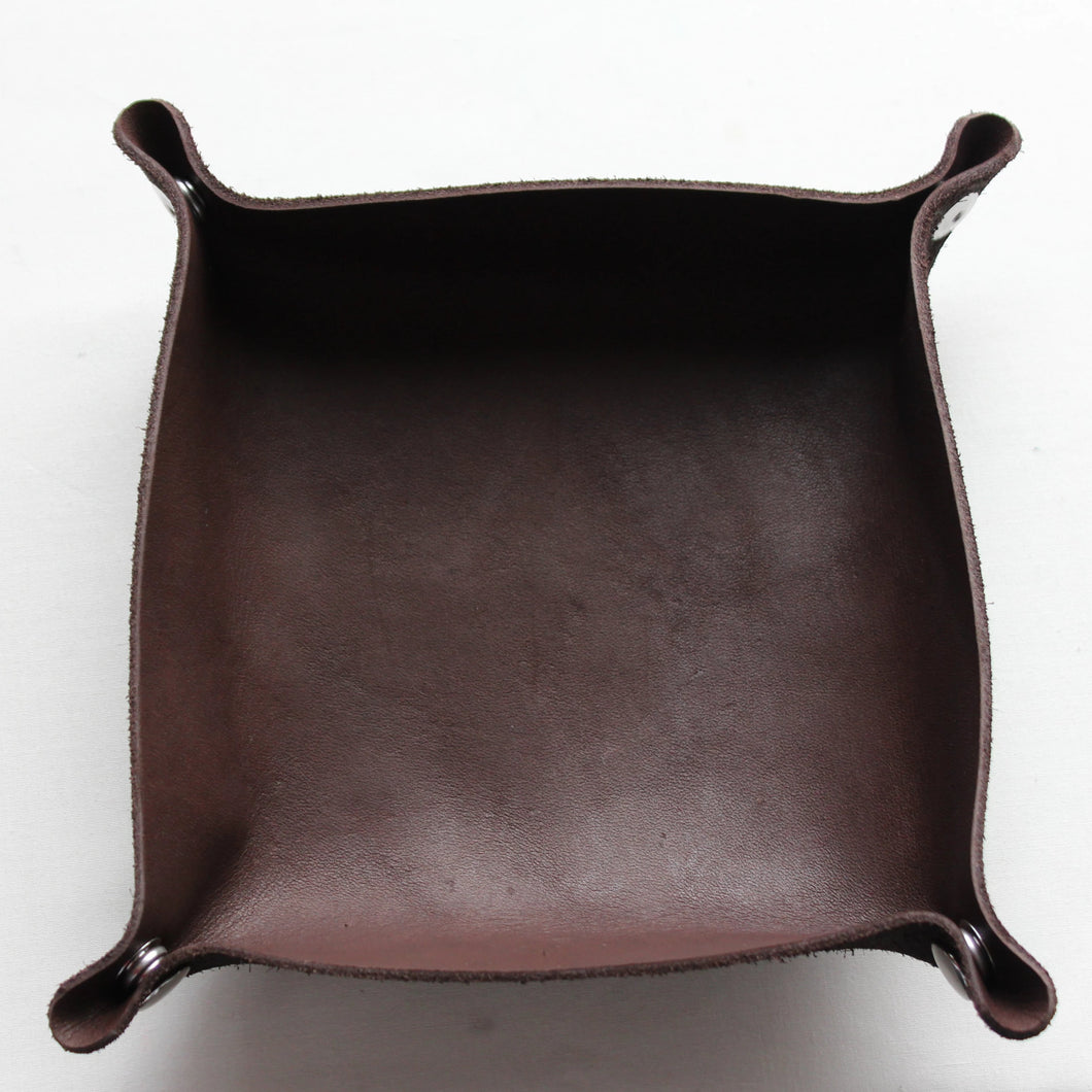 Valet Tray - Chocolate Brown