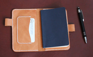 Notebook Cover - Russet Brown