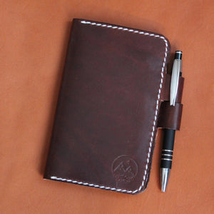 Notebook Cover - Medium Brown