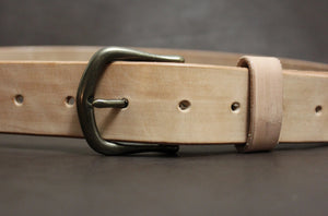Rustic Belt - Natural Finish