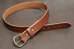 Rustic Belt - Medium Brown