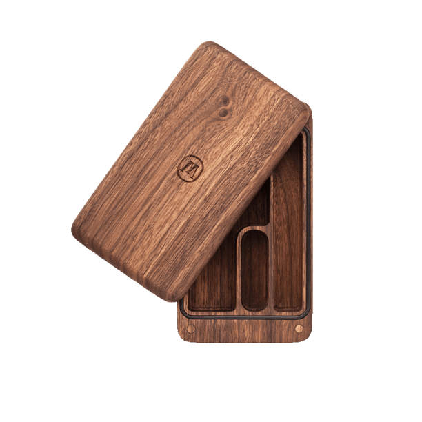 Marley Natural Black Walnut Small Case