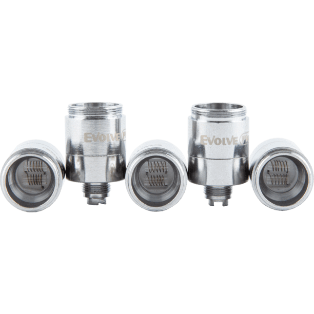 Yocan Evolve Dual Quartz Atomizer - 5 Pack