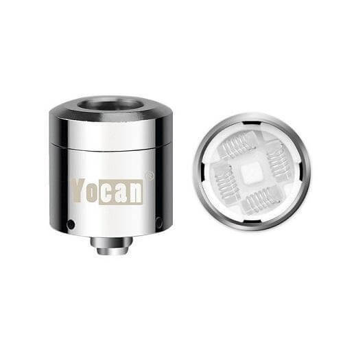 Yocan Loaded Magnetic Quad Quartz Coil - 5 Pack