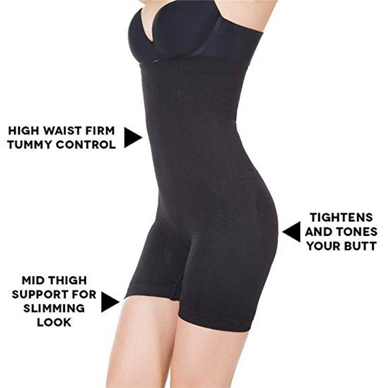 "High Waist ""Full Coverage"" Tummy Control Shapewear"