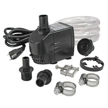 Load image into Gallery viewer, 290 GPH pond pump kit