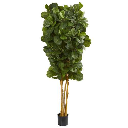 fiddle leaf fig silk tree