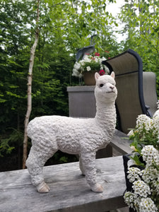 baby alpaca statue for sale
