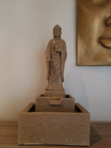 medium garden fountain Buddha