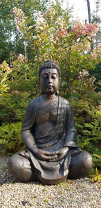 large buddha in the garden sculpture for sale
