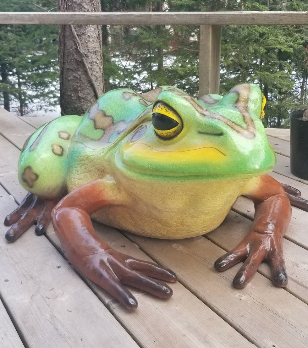 giant frog statue for sale