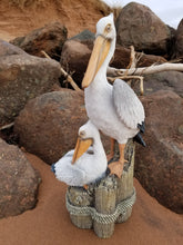 Load image into Gallery viewer, pelican statue beach pose