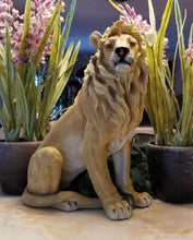 Load image into Gallery viewer, proud lion statue