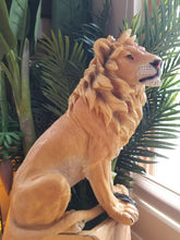 Load image into Gallery viewer, proud lion statue posed right