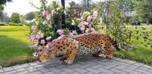 Load image into Gallery viewer, jaguar statue left side profile