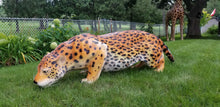Load image into Gallery viewer, lifelike prowling jaguar statue