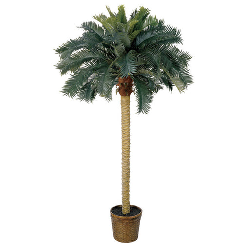 6 foot artificial sago palm tree for sale
