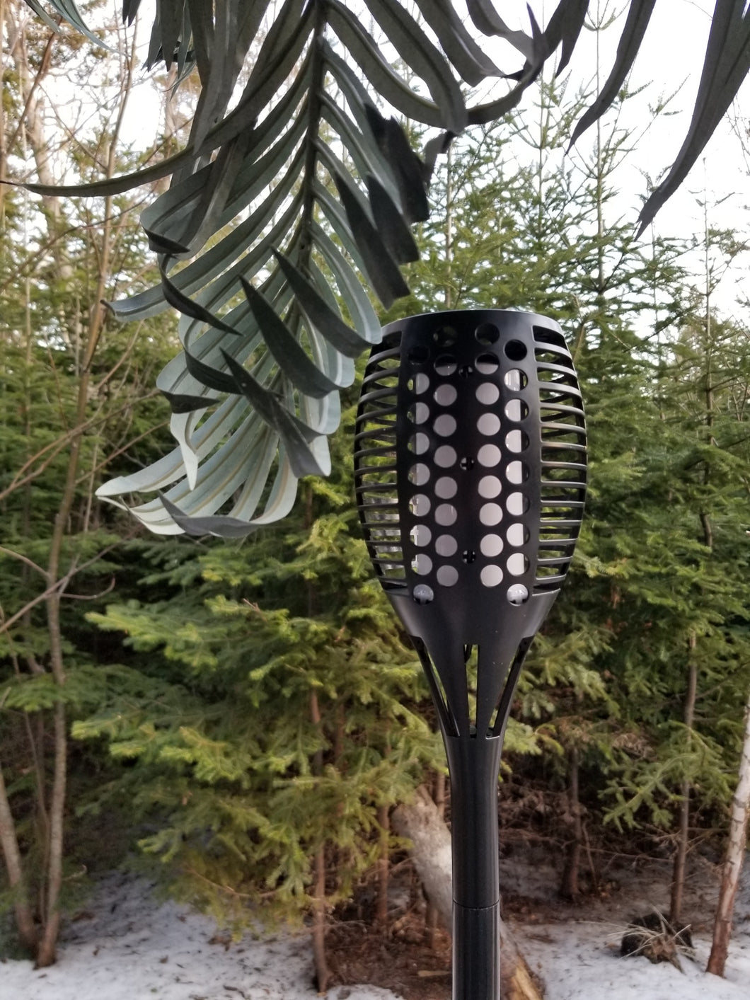 outdoor solar torch for sale