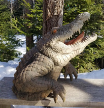 Load image into Gallery viewer, alligator head statue for sale