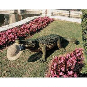 giant alligator statue for sale