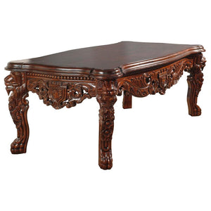 regal lion mahogany coffee table