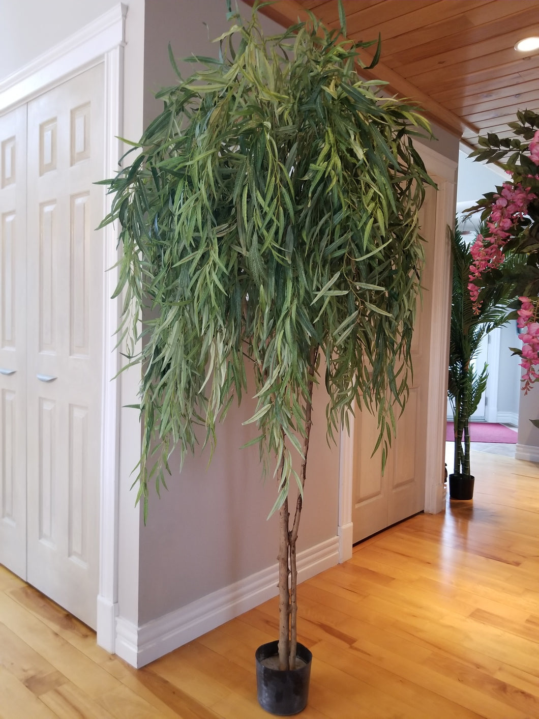 7 foot weeping willow artificial tree for sale