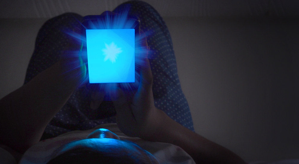 How does blue light affect your melatonin?