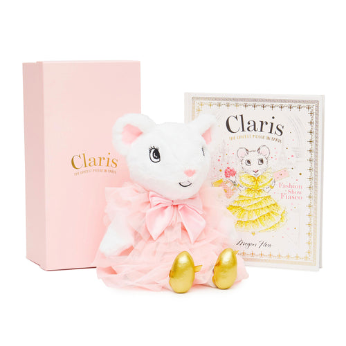 Claris Plush Toy & Fiasco Set