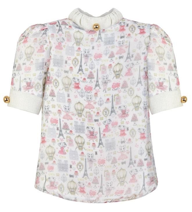 Claris x Poca & Poca - Claris in Paris Blouse