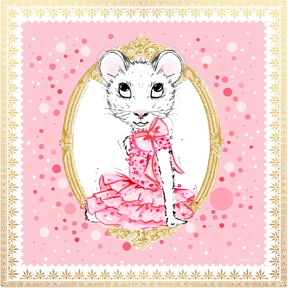 SCARVES – Claris the Mouse