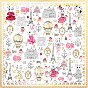 Silk Scarf - Claris Dreams in Paris