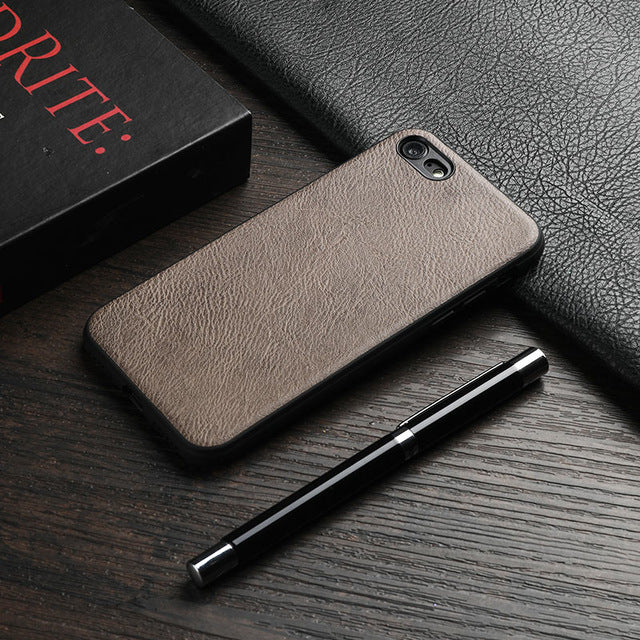 Vintage Leather Case For iPhone 7 / 8