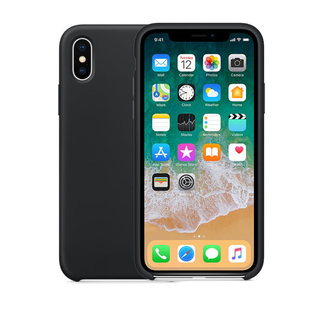 Clean & Slim Looking Silicone Case For iPhone