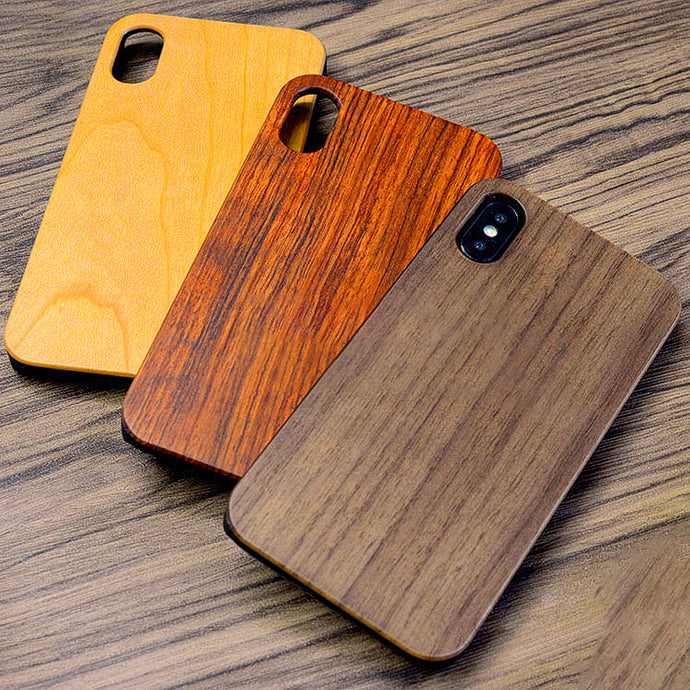 Nature Wood Case For iPhone