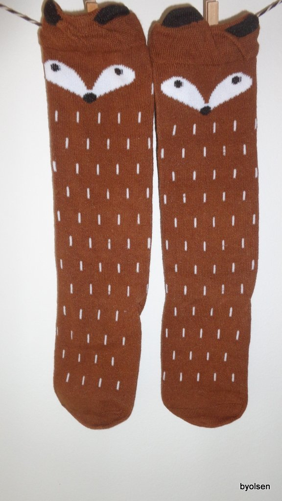 RACOON SOCKS BROWN