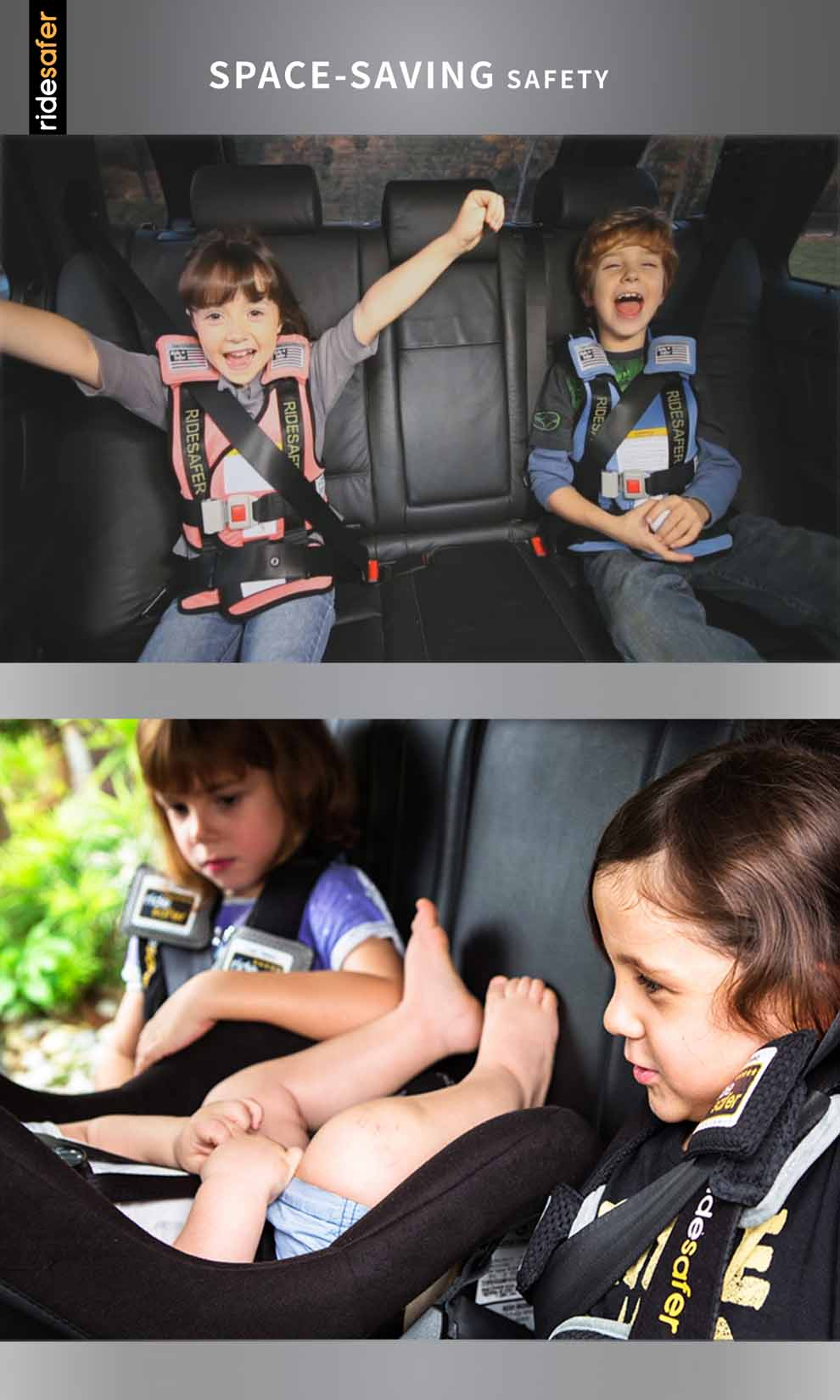 This Revolutionary Wearable Child Restraint Is Lightweight And Easy To Use