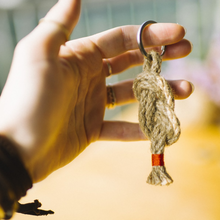 Load image into Gallery viewer, Jute Keychain