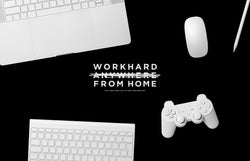 Work from Home Wallpaper