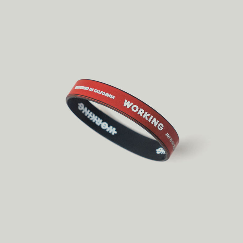Working Not Working Wristband