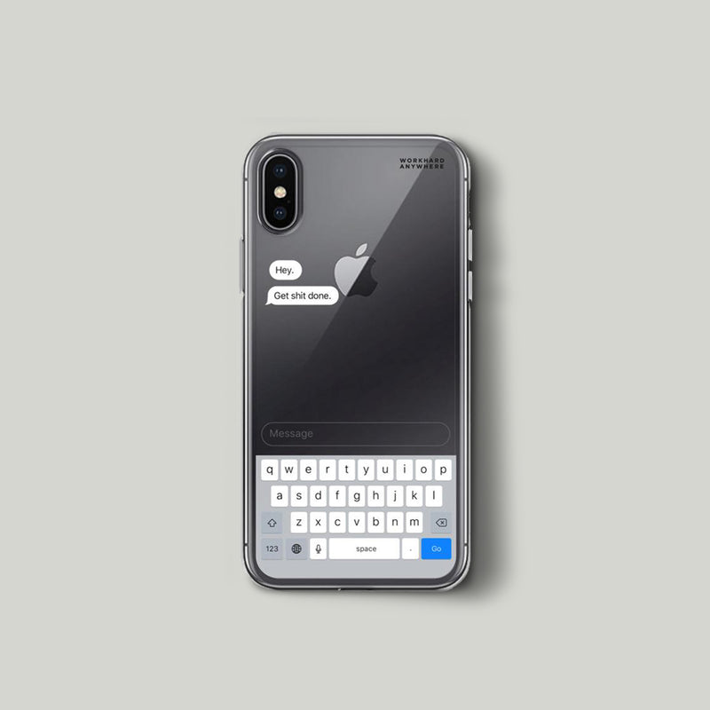 Message Case—Get Shit Done