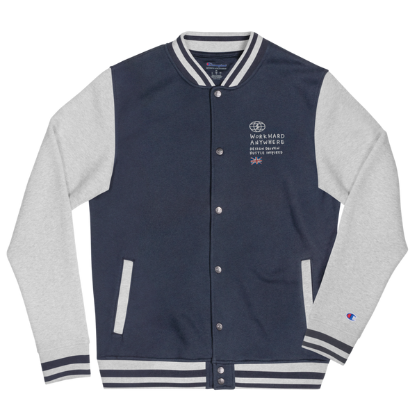 WHA Global Embroidered Varsity Jacket