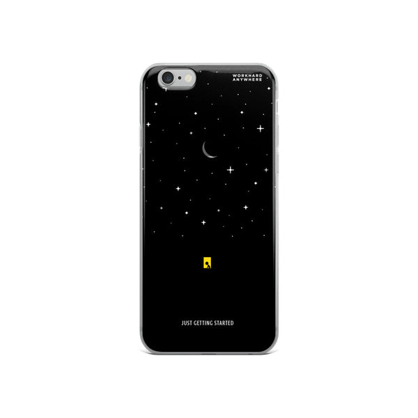 Just Getting Started iPhone Case