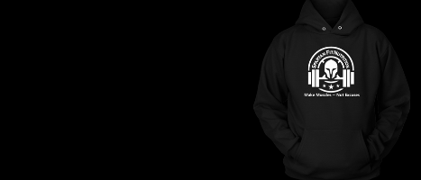 Check out our wearable accessories such as our Spartan Fit hooded sweatshirt.