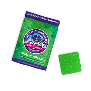 Kozmic Green Apple 50mg Gummy