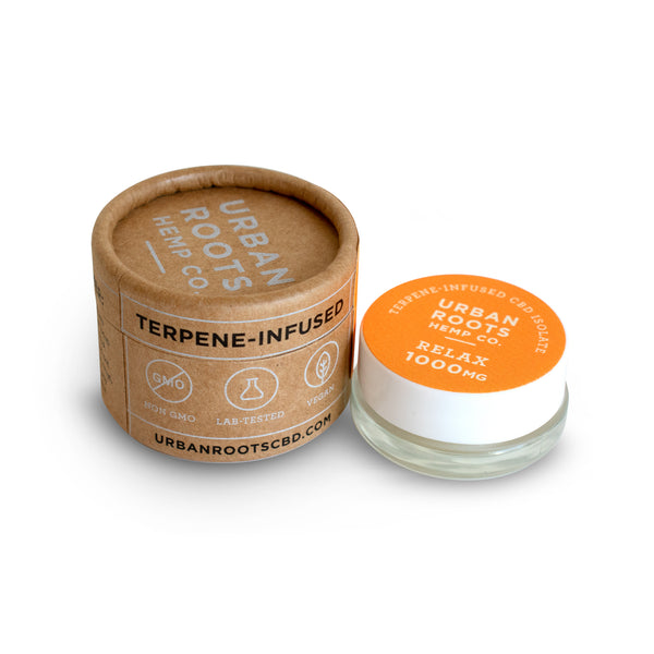 Pure hemp-derived CBD isolate flavored with natural terpenes. RELAX formula has a delicious orange tropical punch taste that will cleanse your pallet and leave you feeling relaxed and satisfied.