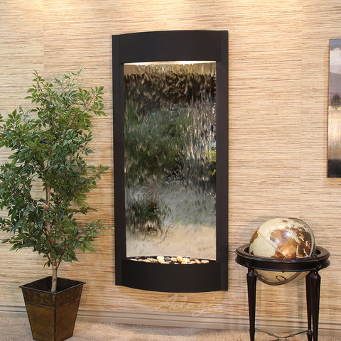 Adagio Pacifica Waters Wall Fountain with Mirror