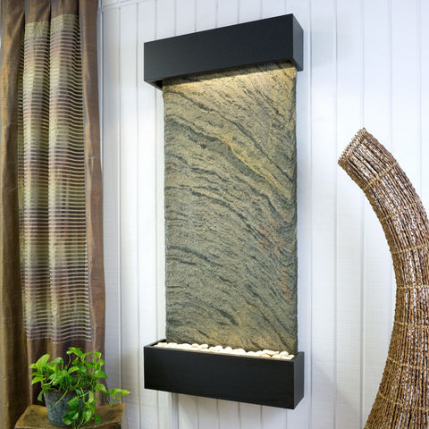 Bluworld Nojoqui Falls Wall Fountain with Classic Slate