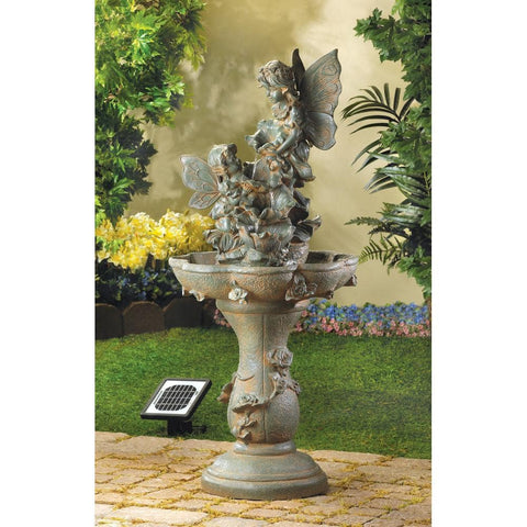 Image of Fairy Solar Water Fountain